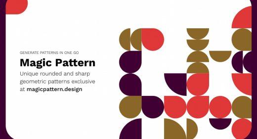 Magic pattern XD hero image
