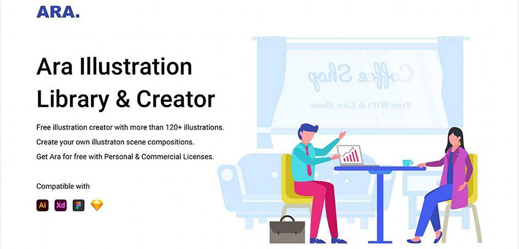 Ara - XD Illustration Library