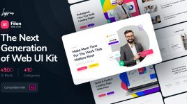 Filon - Premium XD Web UI kit
