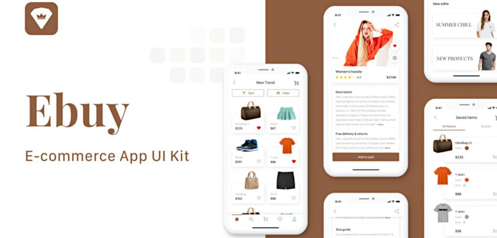 Ebuy - Ecommerce UI Kit for Adobe XD