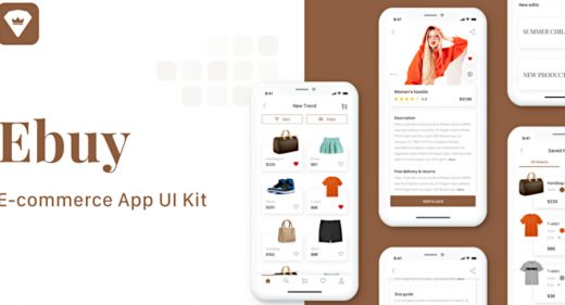 Ebuy - Ecommerce UI Kit for Adobe XD