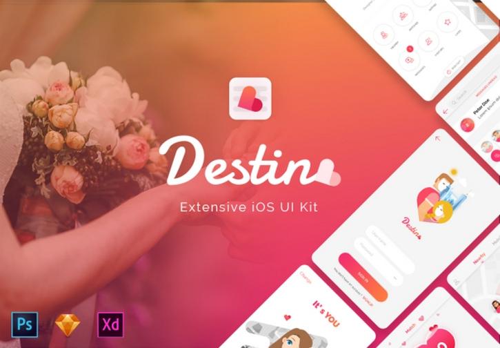 Destino Dating App UI KIT