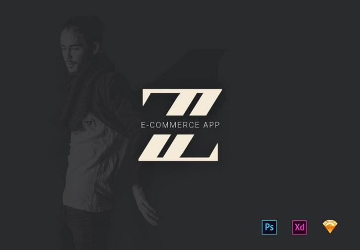 Zet Ecommerce iOS App UI Kit for Adobe XD