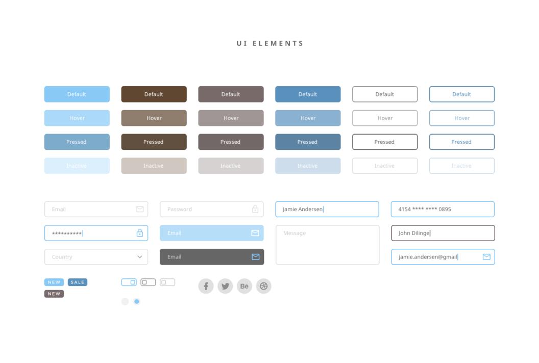 Dreamy UI Kit