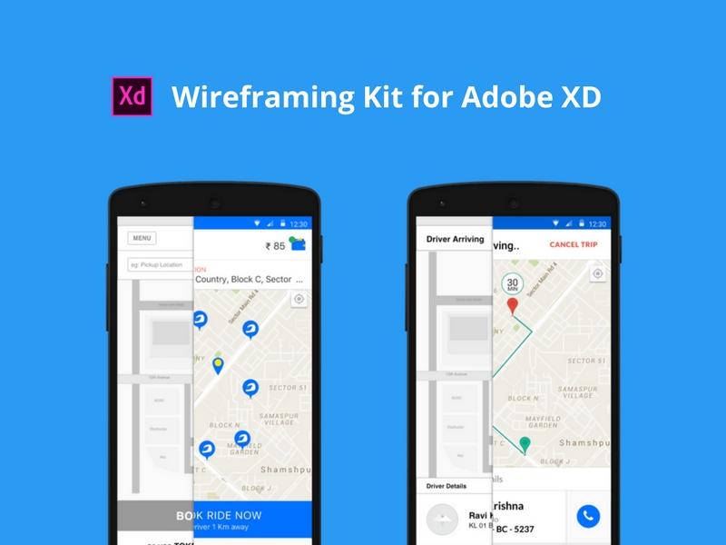 Wireframing Kit for Adobe XD