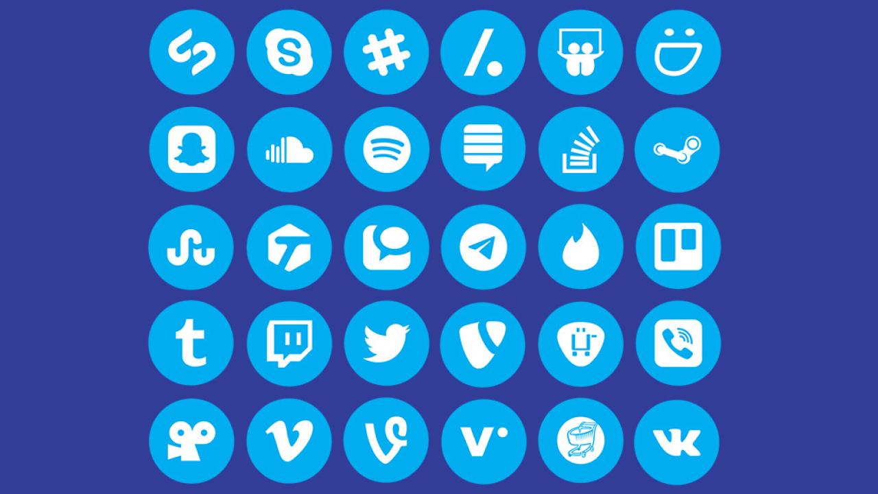 IcoFont – 112 бесплатных социальных иконок для Adobe XD