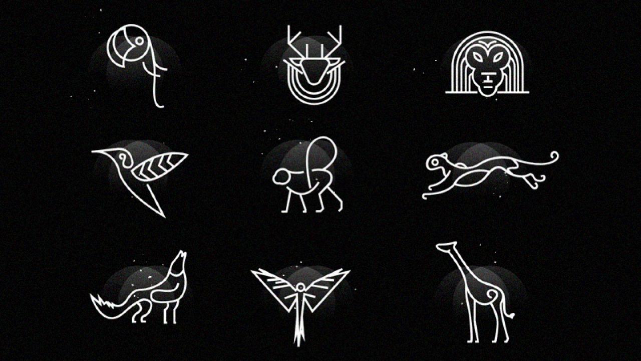 Бесплатный набор иконок животных для Adobe XD