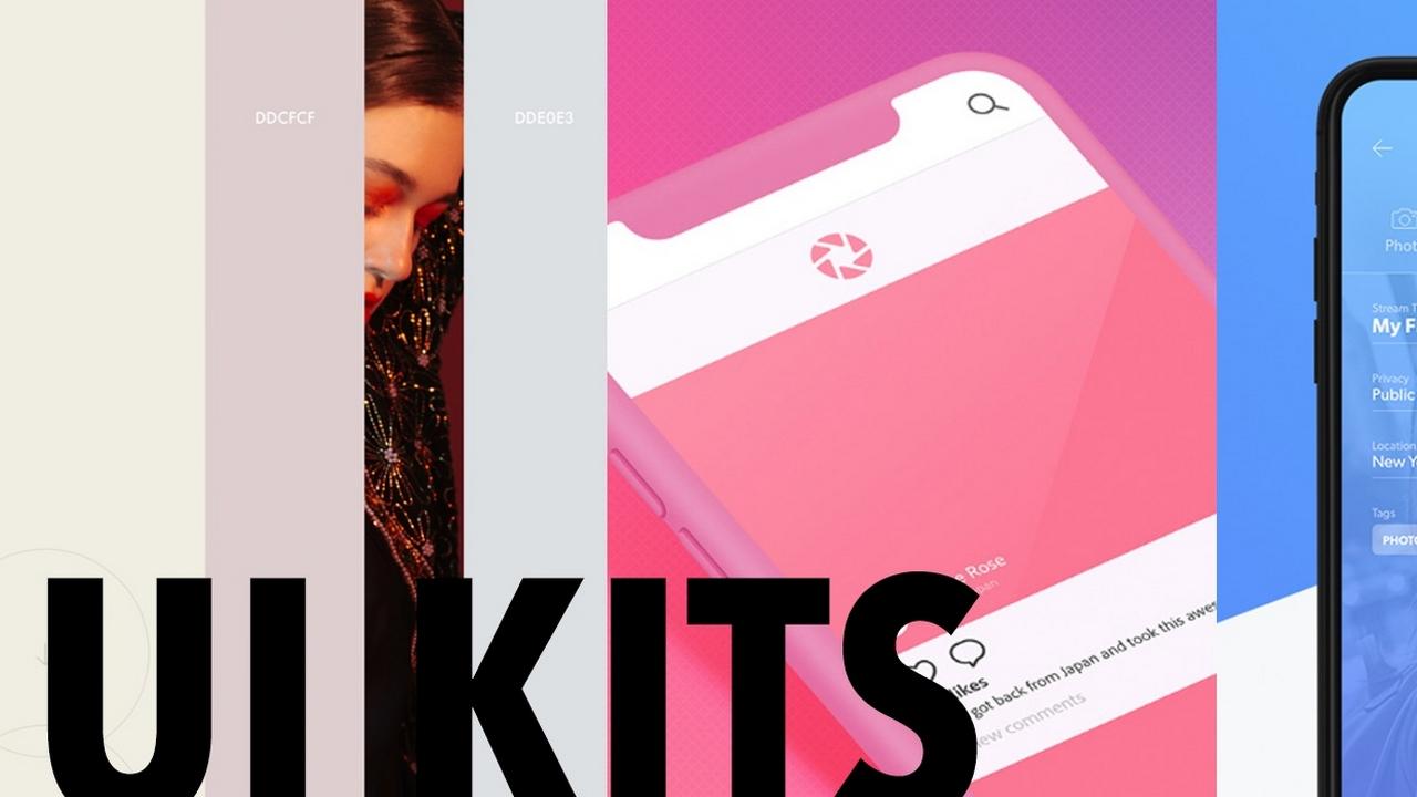 Создайте новый дизайн в этом году с помощью этих бесплатных UI Kits Adobe XD для 2019 года