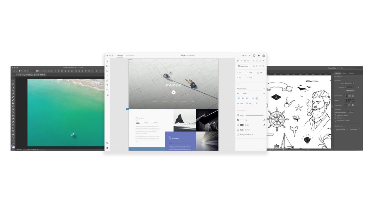 Обуздайте мощь Photoshop и Illustrator с помощью Adobe XD