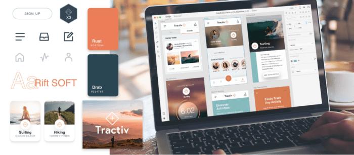 Tractiv UI Kit: Всё, что вам нужно для создания приложения фитнес-трекинга