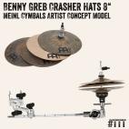"Benny Greb Crasher Hats 8"" (Meinl Cymbals Artist Concept Model) Produktfoto #TTT"