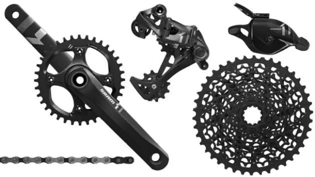 Groupset for bicycle Sram-8