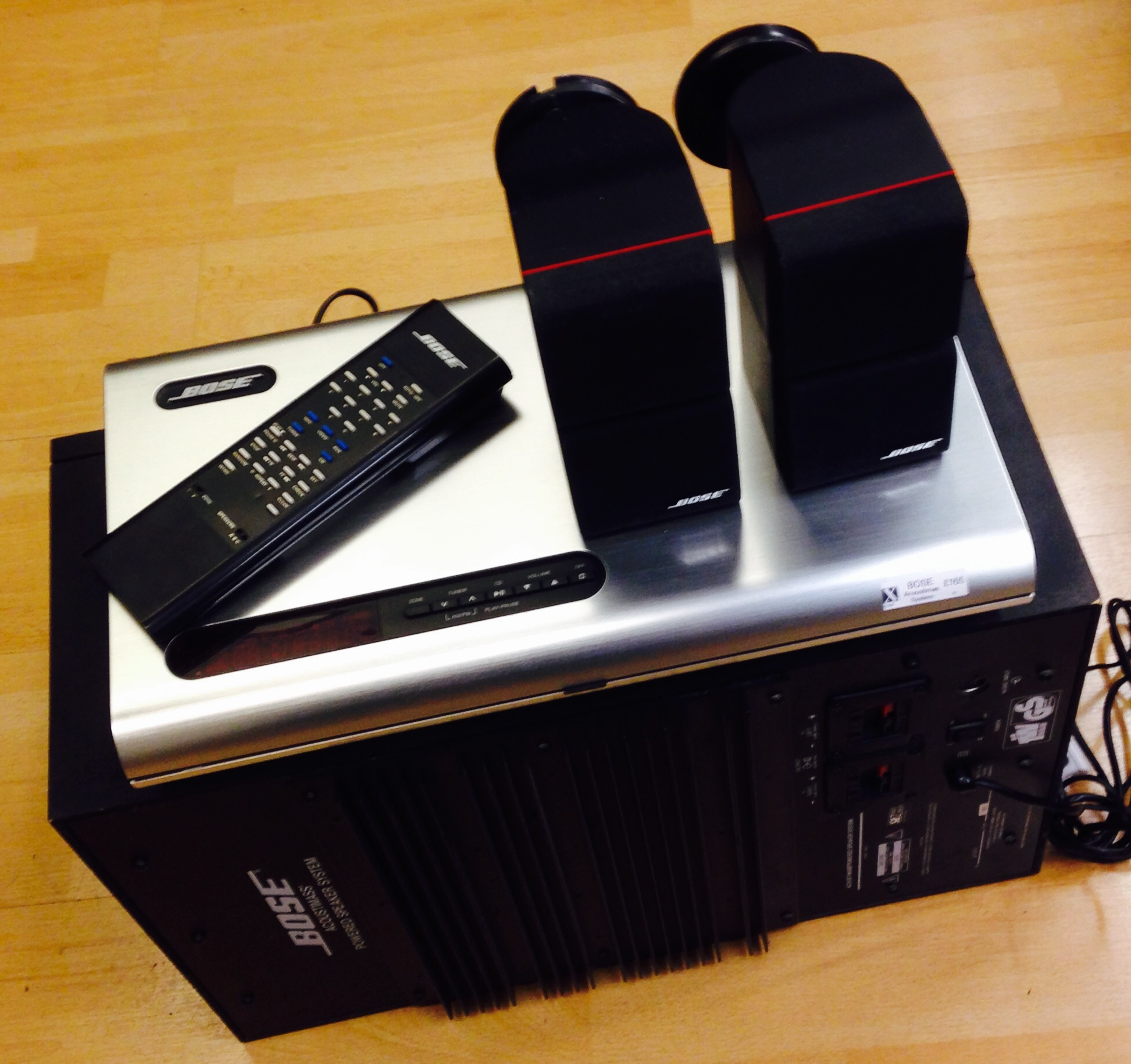 Bose Acoustimas System for sale at X Electrical