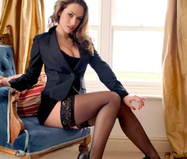 Sexy Secretary Legs Nylons Stockings