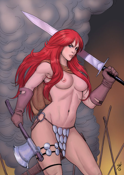 Red sonja naked nude  quality images