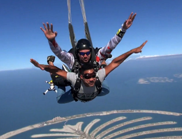 Image result for will smith skydiving