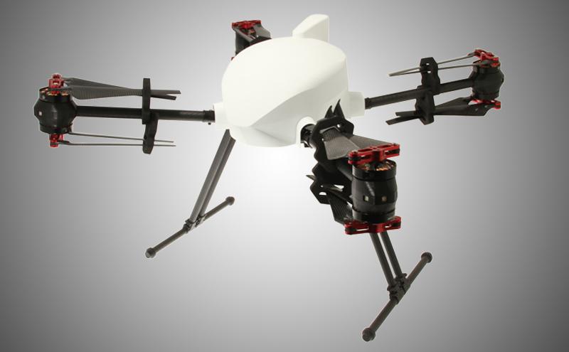 onyxstar drone xena uav uas custom payload mount sensor - Fly XENA UAV