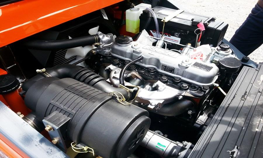Động cơ Isuzu C240 lắp trên xe nâng 3 Tấn