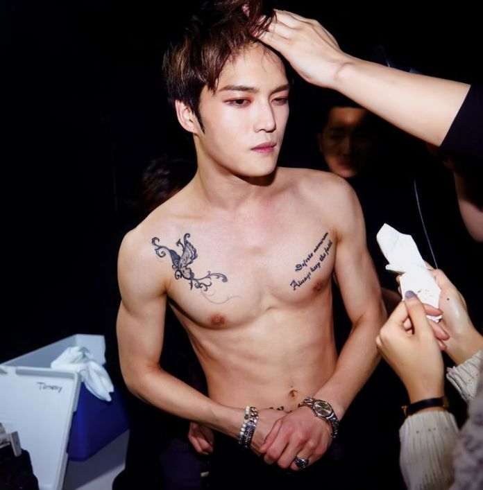 Pic 3 - Do you know the meaning of Jae Joong's tattoos?