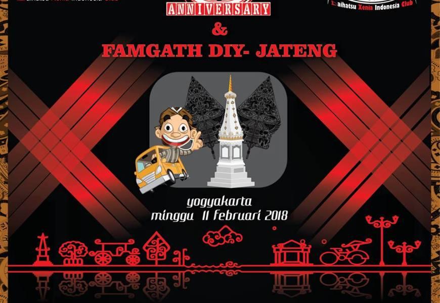 FAMGATH DIY – JATENG 2018 Anniversary #3 DXIC Djogja Istimewa