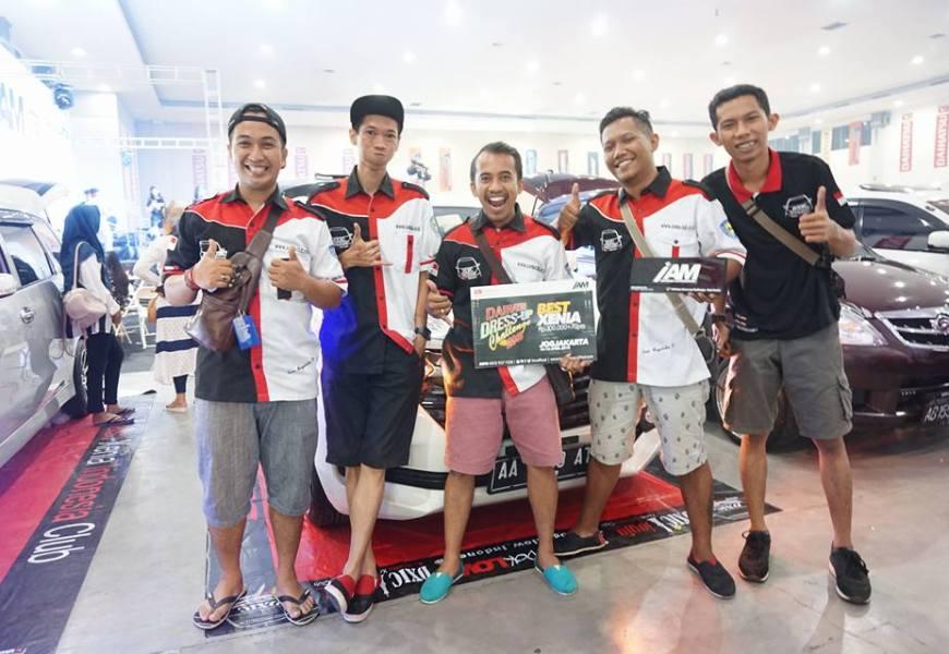 "DXIC Yogya Raih "" ""The Best Xenia"" di IAM Indonesia Automodified"