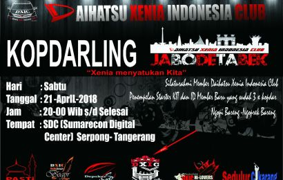Kopdarling Jabodetabek  21 April 2018