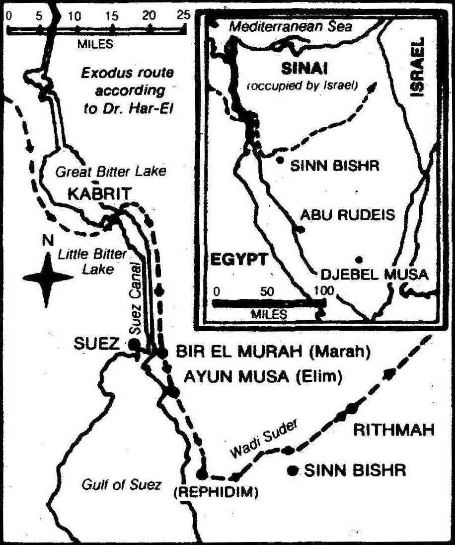 map showing Sinn Bishr