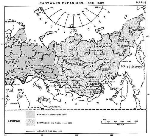Siberia 1689