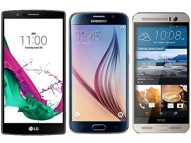 เทียบสเปค Samsung Galaxy S6 vs HTC One M9+ vs LG G4 ใครเด็ดกว่ากัน -  ล้านเรื่องราว ของ xenon_art