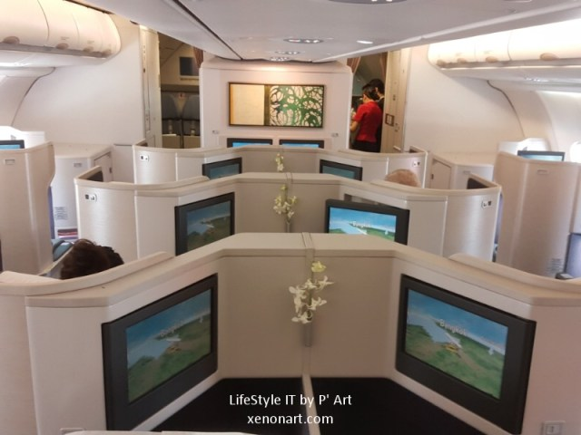 Review Cathay Pacific airline business class (104)