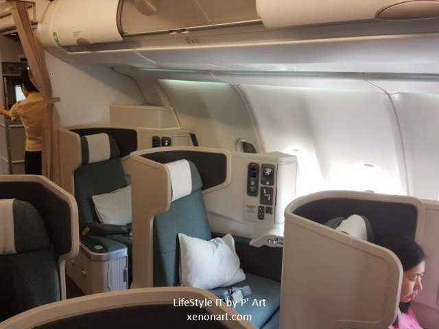 Review Cathay Pacific airline business class (105)
