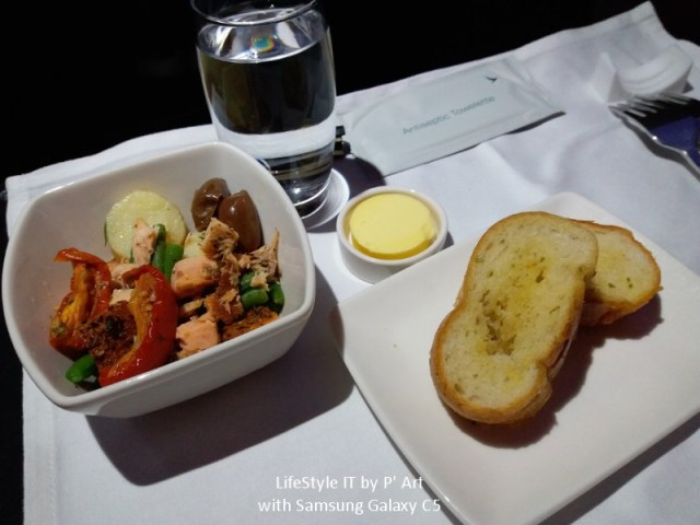 Review Cathay Pacific airline business class (31)