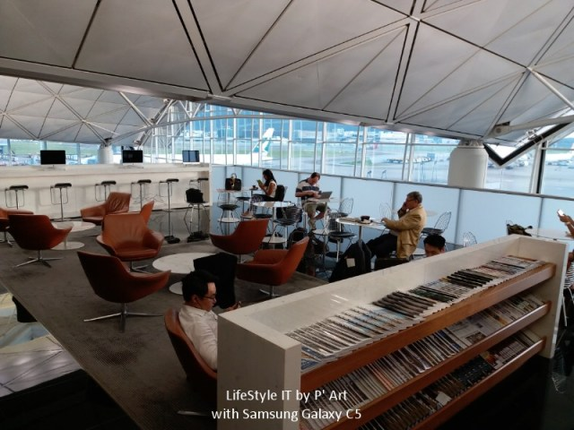 Review Cathay Pacific airline business class (55)