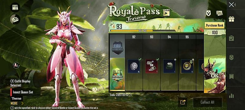 BGMI 1.5 Update - New Royale Pass System
