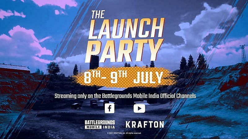 BGMI The Launch Party