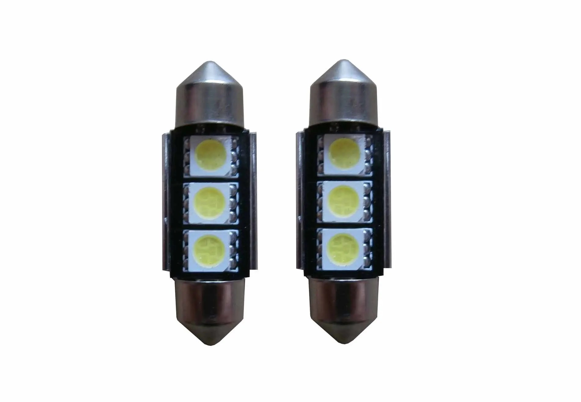 Lampen Verlichting Overijssel 3 Smd Canbus Led C5w 36mm