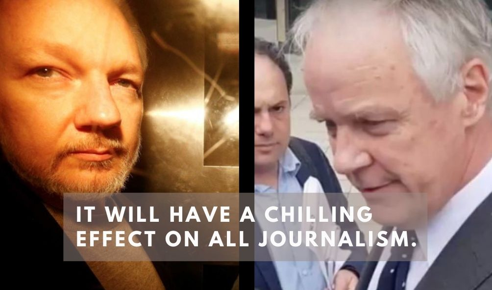 """Mark Davis: Julian Assange's extradition will have """"chilling effect"""" on journalism"""