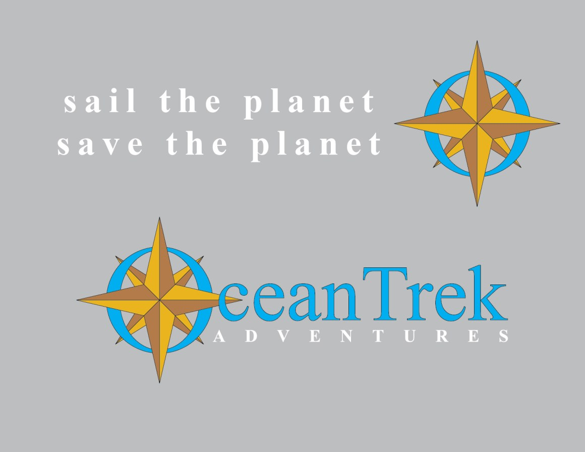 Ocean Trek Logo - Gold Compass Rose - Final-01