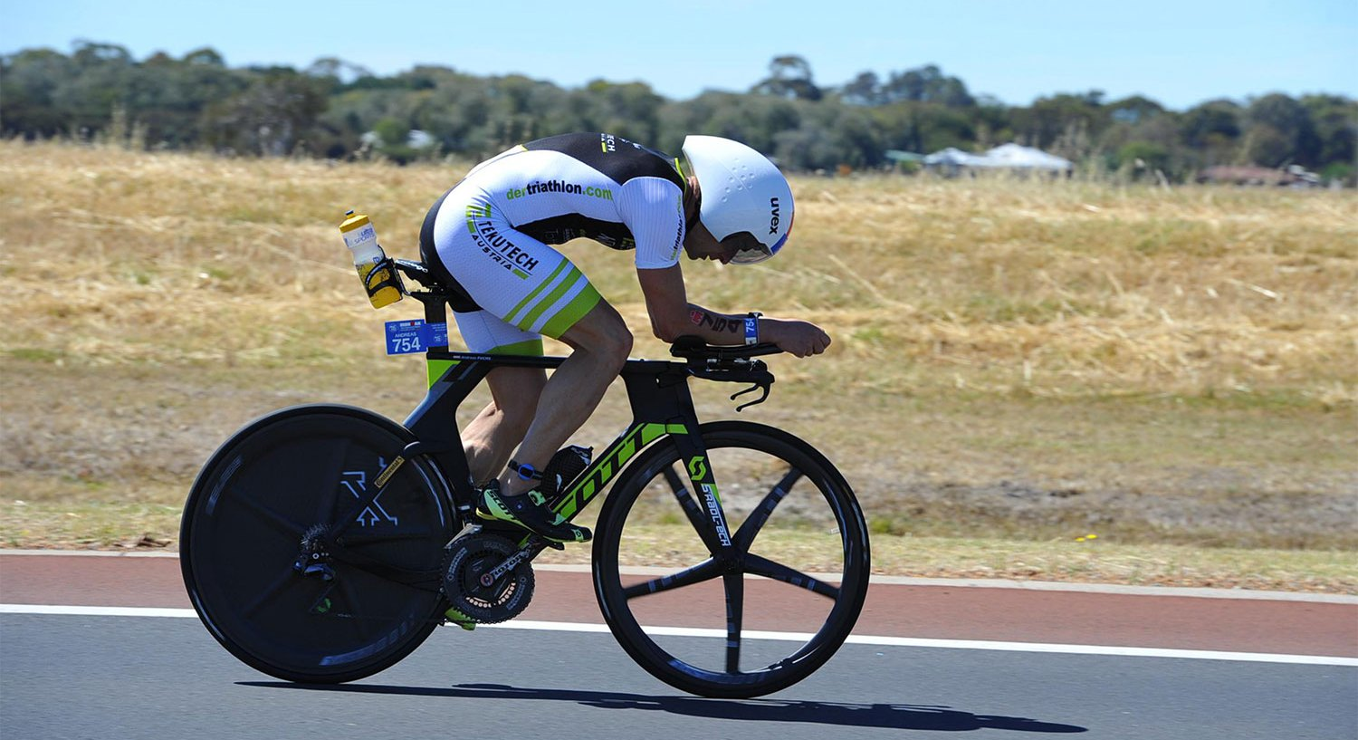 Andreas Fuchs qualifies at Ironman Australia