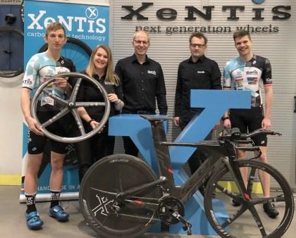 XeNTiS unterstützt LTV-Köflach Spitzentriathleten