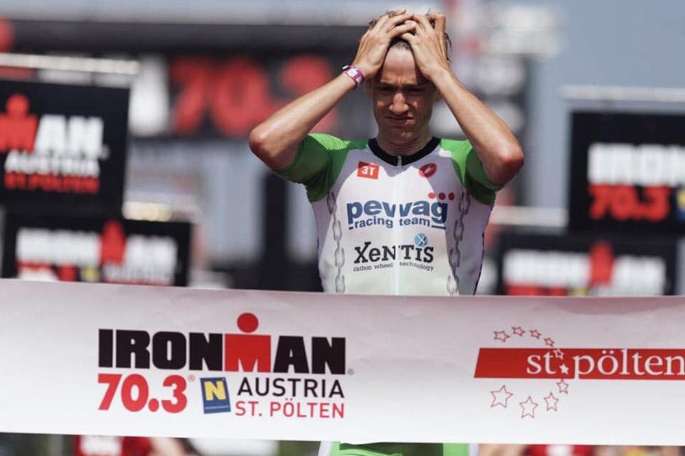 2. Platz für Thomas Steger beim IRONMAN Austria 70.3 in St. Pölten