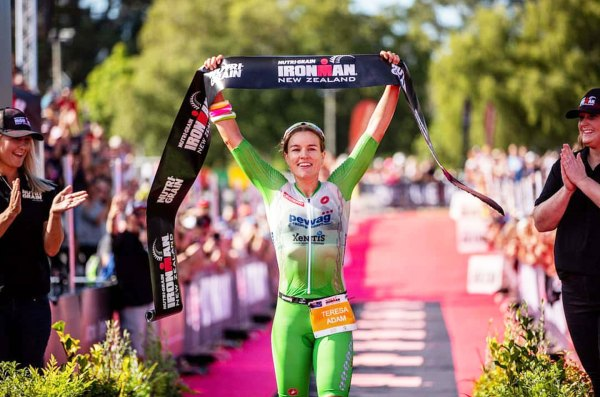 Teresa Adam is the 2020 Ironman New Zealand Champion