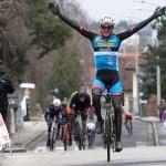 Moran Vermeulen vom Team Felbermayr Simplon Wels gewinnt in Leonding