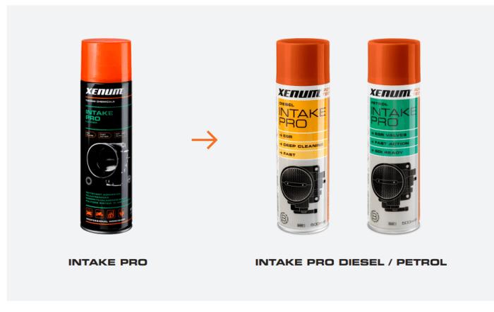 Intake Pro to Intake Pro Diesel and Petrol