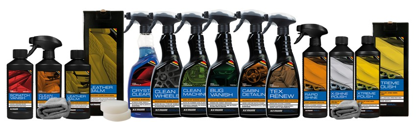 Xenum Blue Range of sprays and cleaners