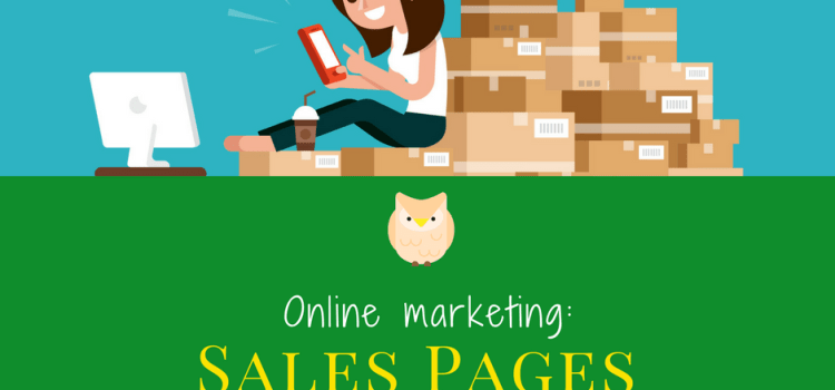 Online Marketing: The Sales Page that Sells Products