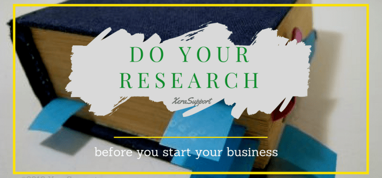 The research you must do before you start a business