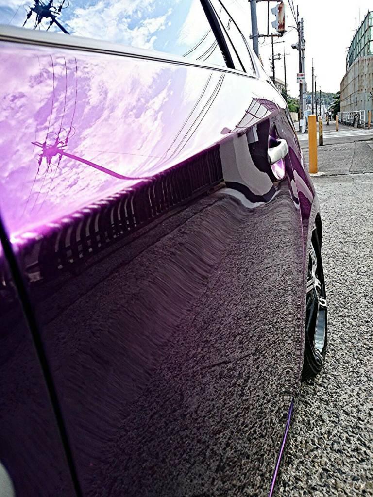 和泉市のカスタムショップがおこなう磨きコーティングやガラスコーティング。塗装の色褪せ洗車傷が消え塗装本来の艶が戻ってきます