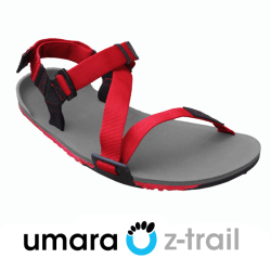 The Umara Z-Trail Sport Sandal – 10mm of comfort and protection while still allowing natural movement.