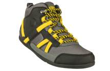 Yellow and Black Hiking Boots for Men